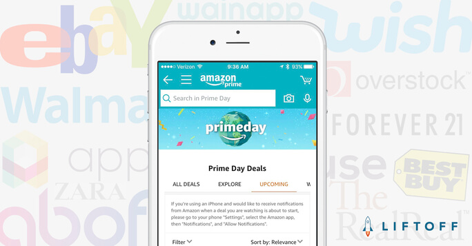 Amazon Prime Day Was Great for Amazon, But What About Other Mobile Shopping Apps?