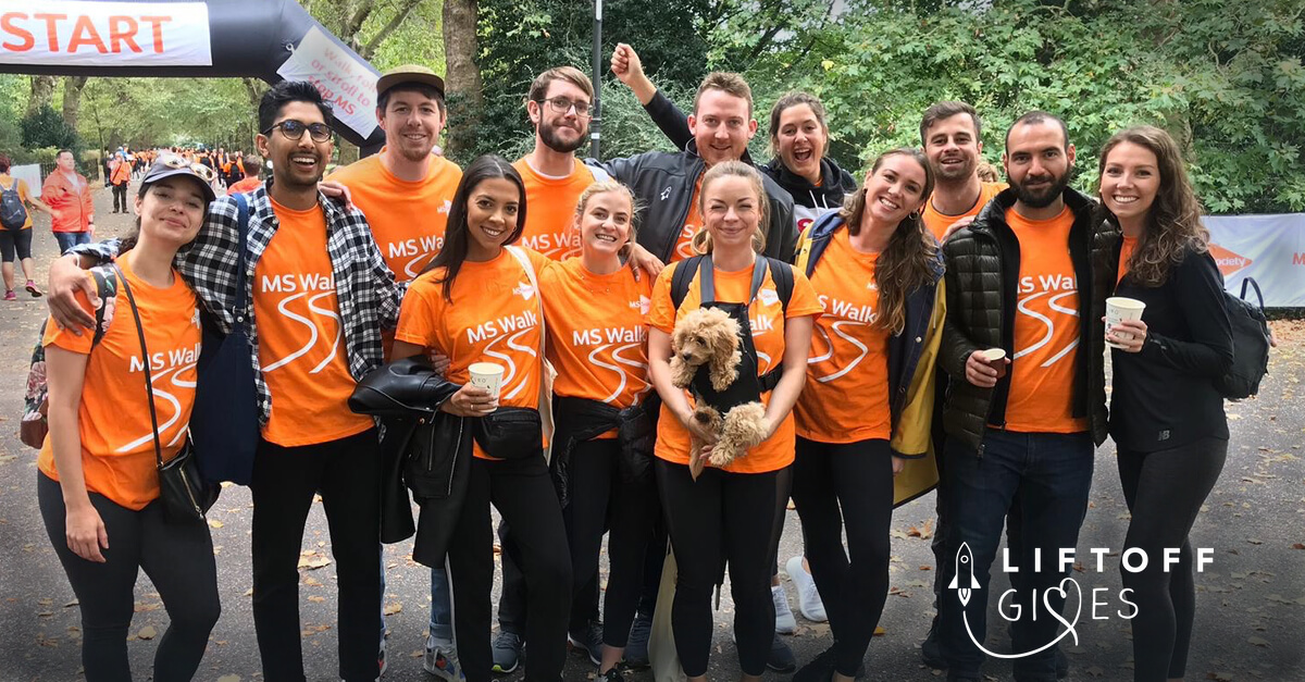 Liftoff Gives – London 10km for MS Society
