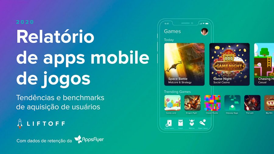 2020 Mobile Gaming Apps Report - PT-BR
