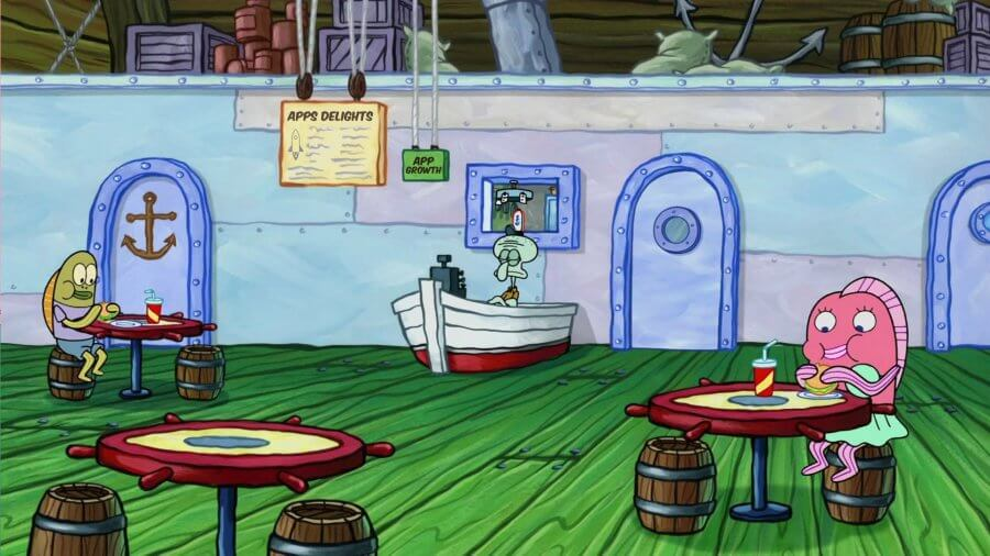 SpongeBob SquarePants (Krusty Krab)
